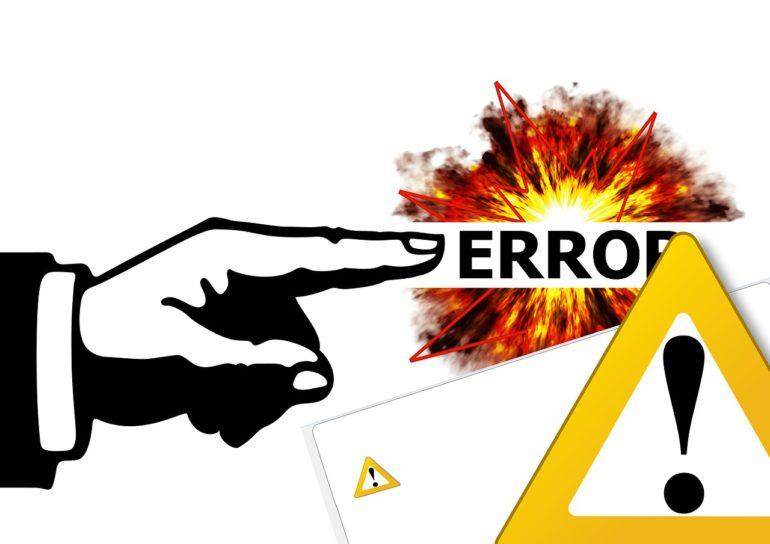 7 errores frecuentes en la emisión de facturas